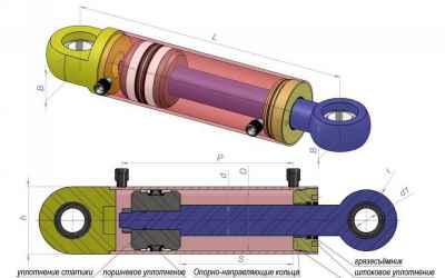 Ремонт гидроцилиндров оказываем услуги, компании по ремонту